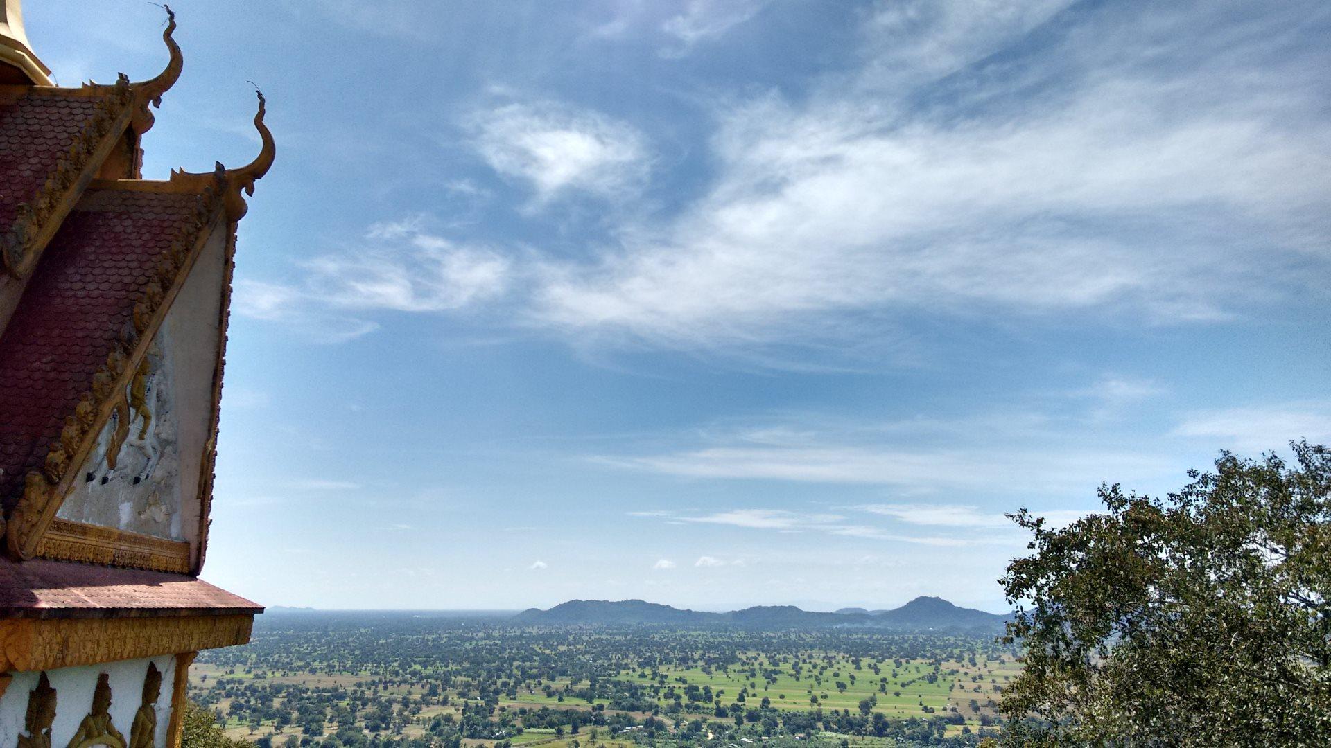 Kambodscha-Himmel